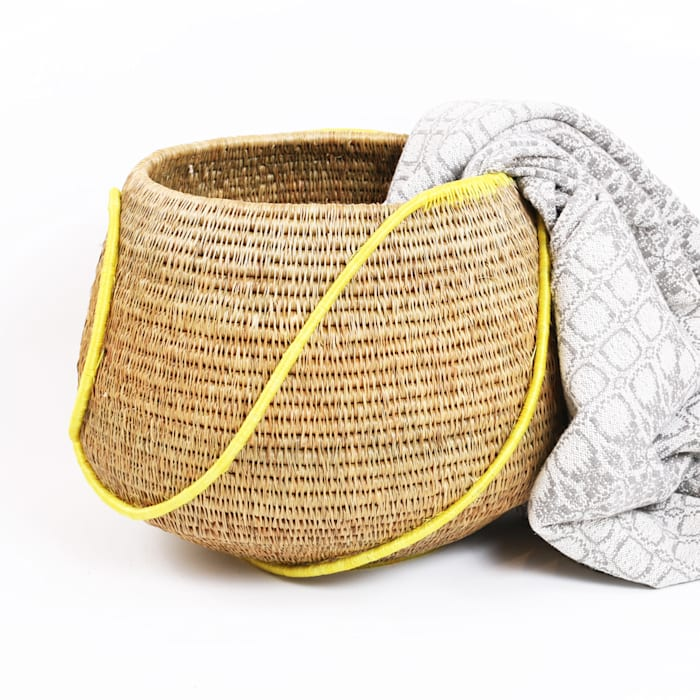 modern  by The District Six Store, Modern Rattan/Wicker Turquoise