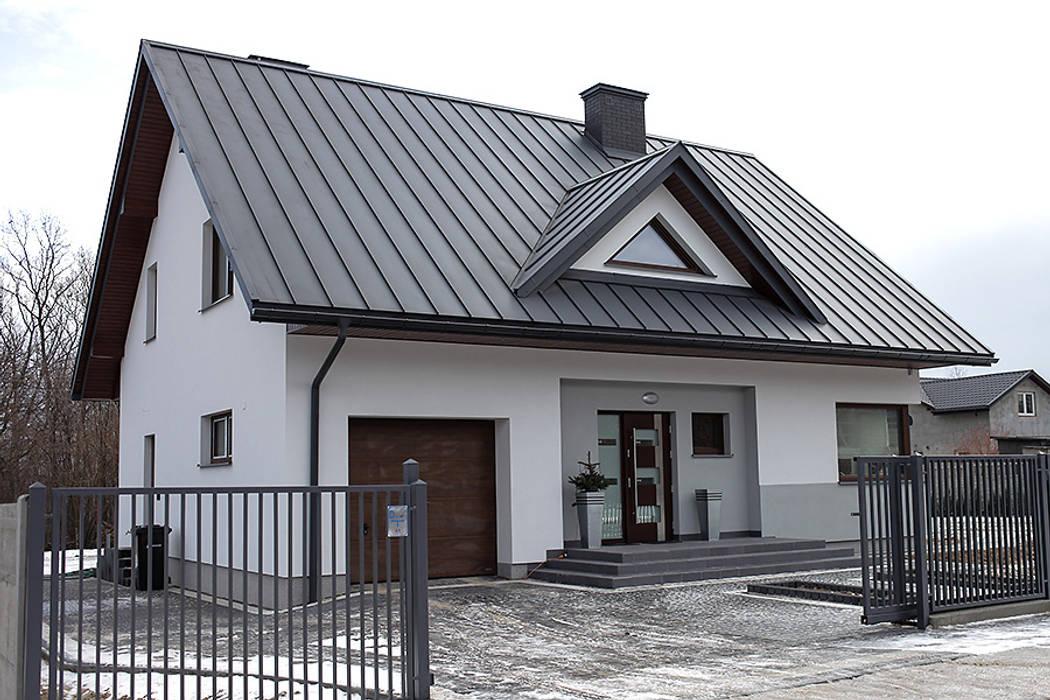 Realizacja projektu Meteor 2 Biuro Projektów MTM Styl - domywstylu.pl Nowoczesne domy