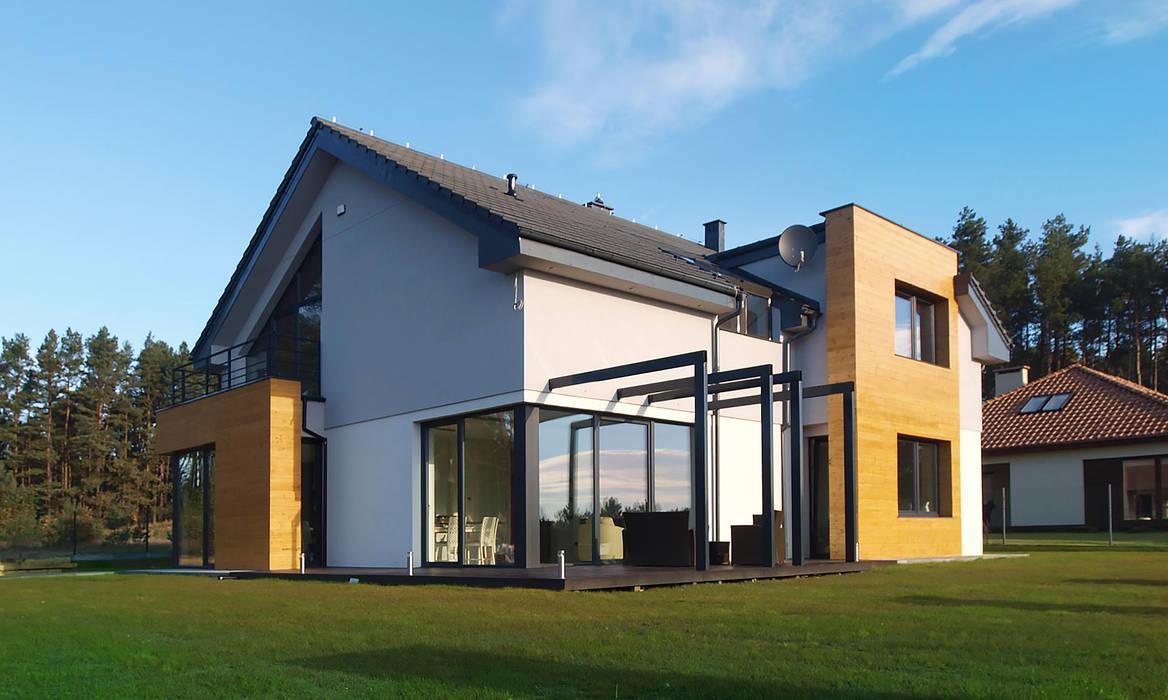 Pracownia Projektowa Wioleta Stanisławska Casas de estilo moderno
