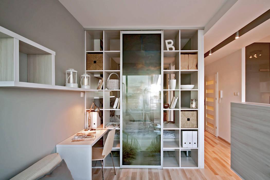 Salones de estilo  de IDAFO projektowanie wnętrz i wykończenie, Minimalista
