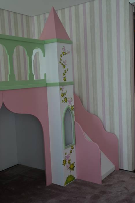 Projeto e Decoração - Quarto Princesa Quartos de criança modernos por Detalhes & Design Moderno