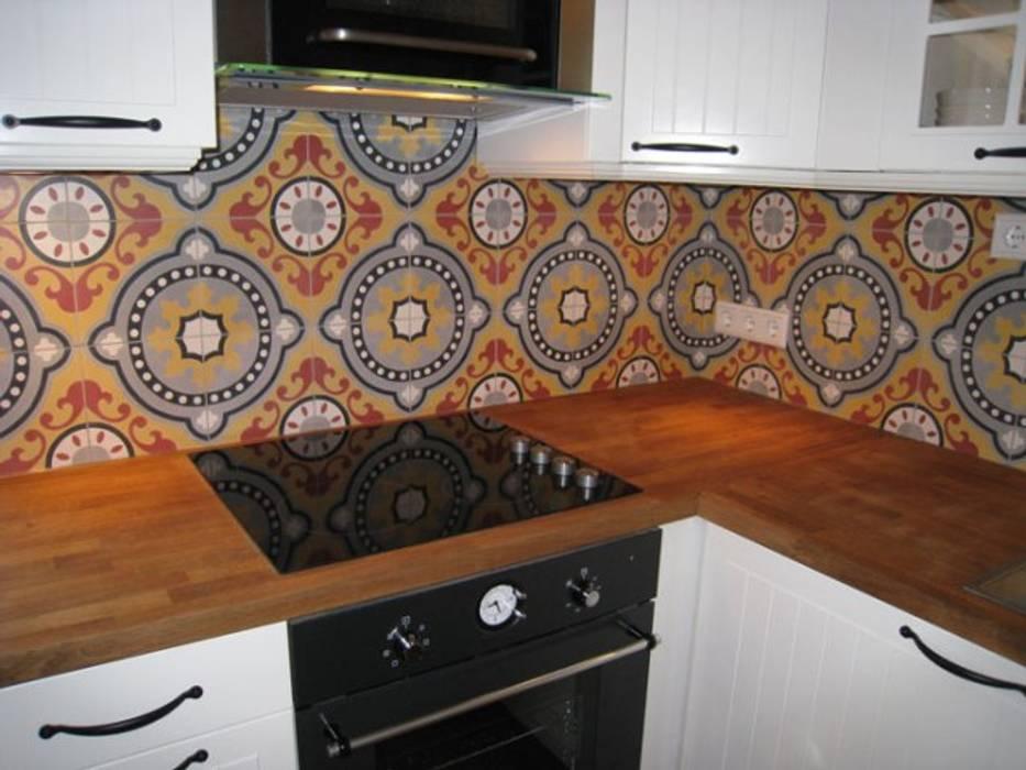 Marokkaanse cementtegel artikel nr 501 Mediterrane keukens van Articima Mediterraan