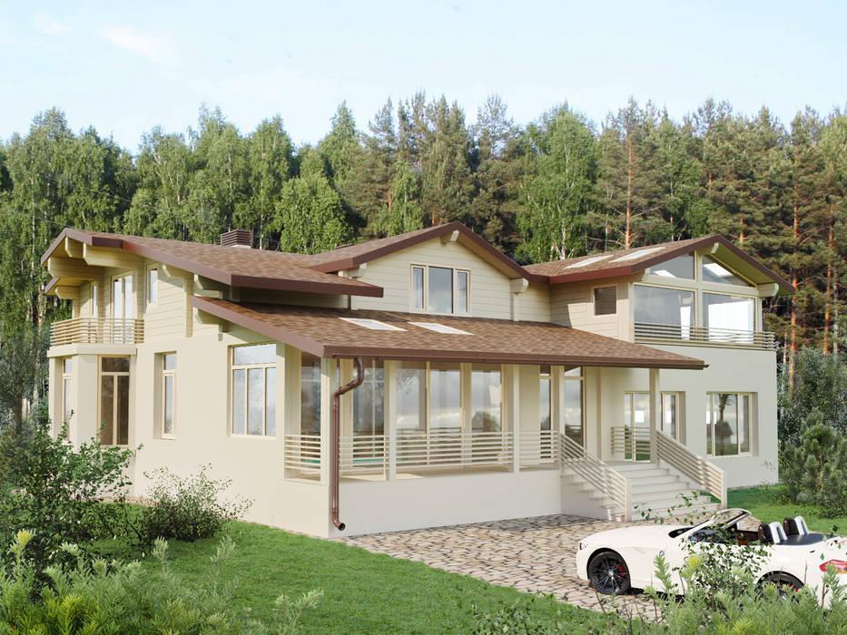 Maisons minimalistes par homify Minimaliste Bois Effet bois