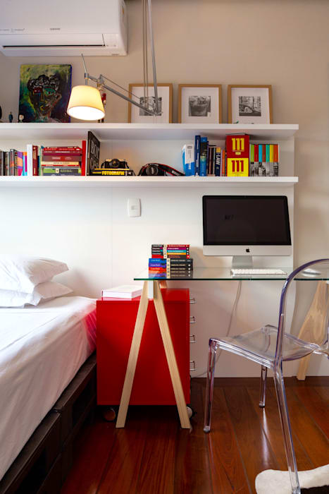 FW HOUSE Quartos modernos por Estúdio LAFLORENCE. Moderno Madeira Efeito de madeira