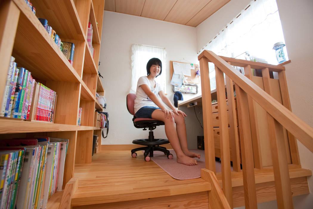 Dormitorios infantiles de estilo  de 株式会社 atelier waon, Moderno