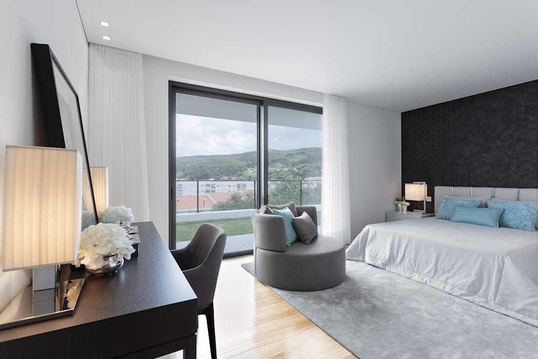 CASA MARQUES INTERIORES Modern style bedroom