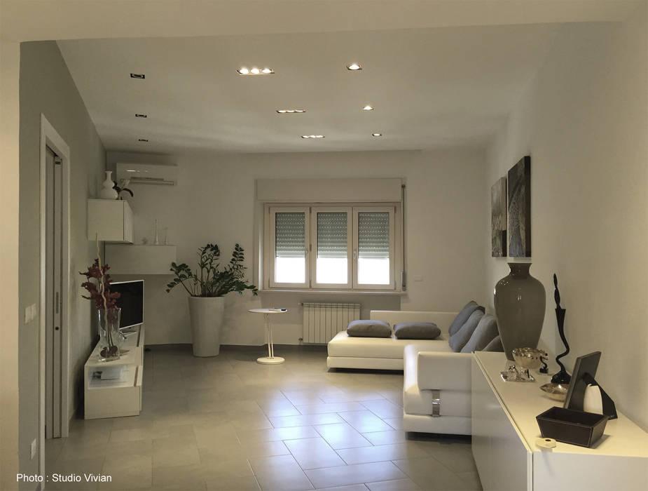 Studio Vivian Modern living room