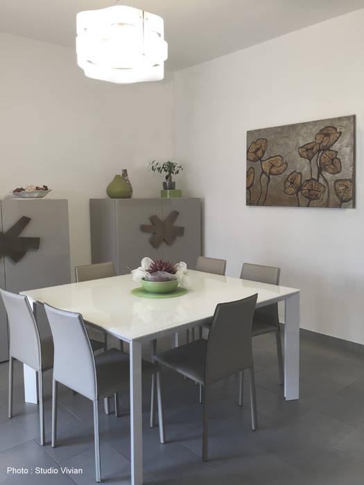 Studio Vivian Modern dining room