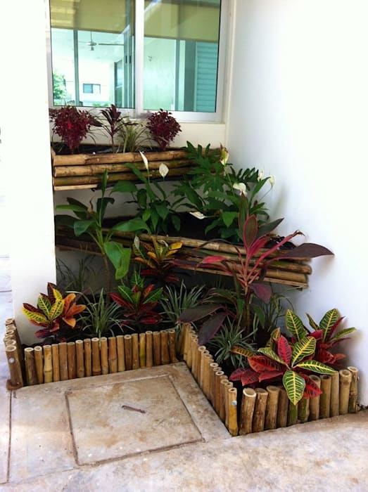 Jardin moderne par Bambootec Moderne
