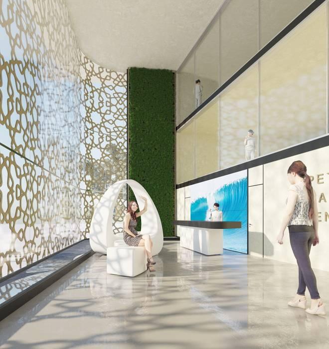 Hospitais asiáticos por Архитектурное бюро DR House Asiático