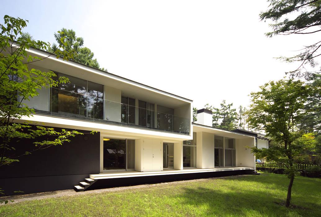 株式会社廣田悟建築設計事務所 Rumah Modern White