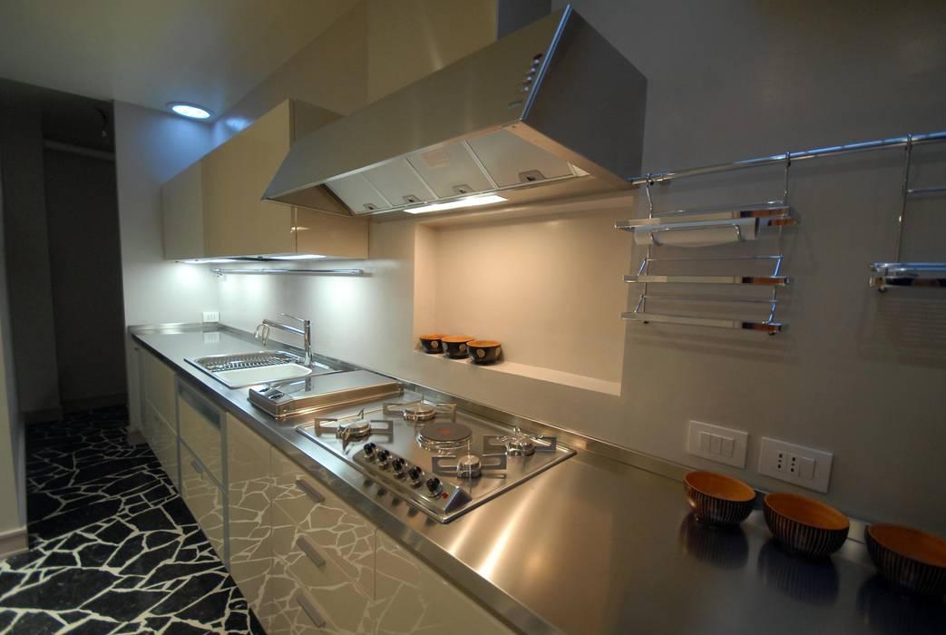 現代廚房設計點子、靈感&圖片 根據 bilune studio 現代風