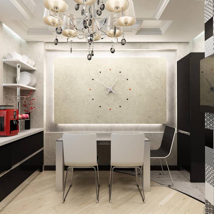 Nhà bếp phong cách hiện đại bởi Anfilada Interior Design Hiện đại