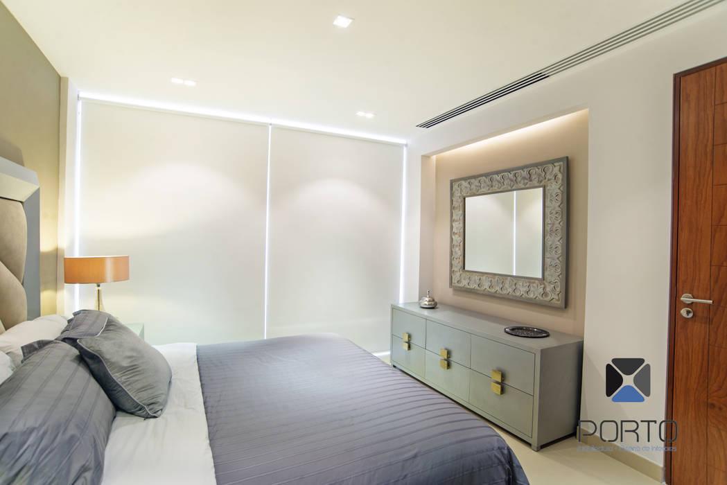 Dormitorios de estilo ecléctico de PORTO Arquitectura + Diseño de Interiores Ecléctico