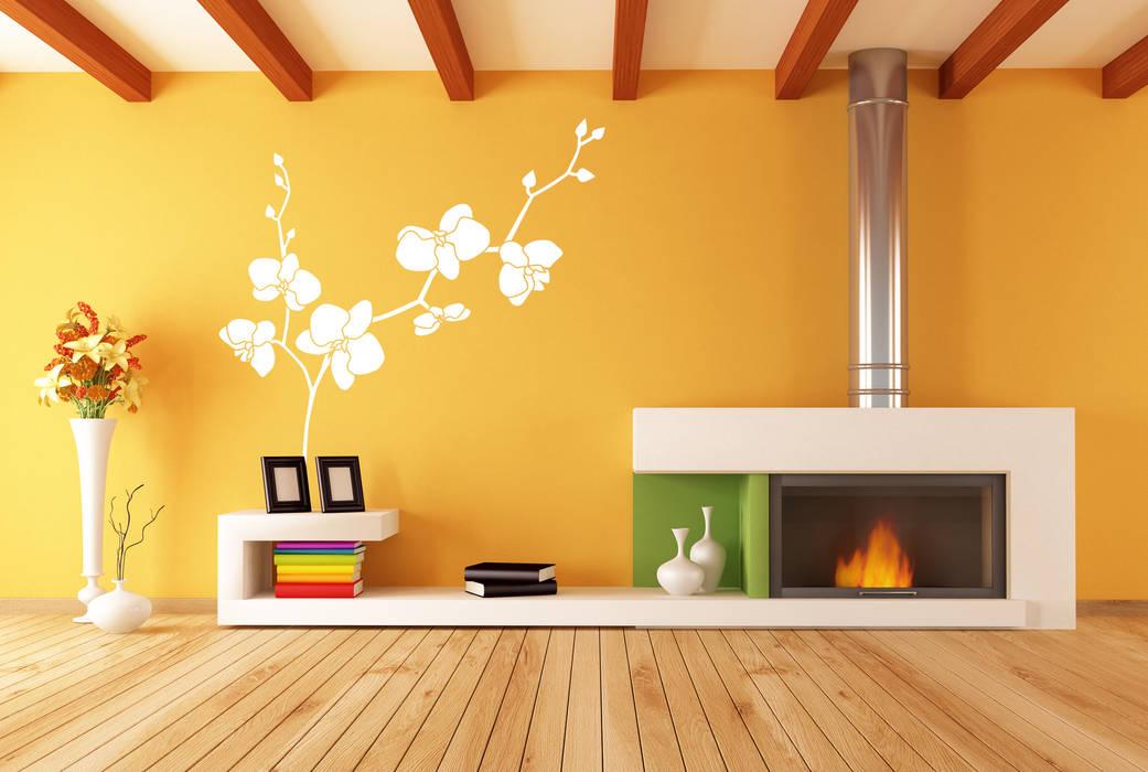 Tường & sàn phong cách hiện đại bởi homify Hiện đại