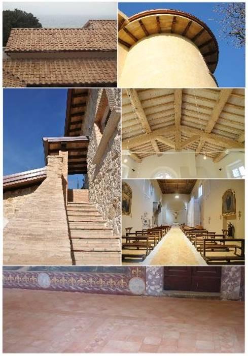 Oude, 'antieke' maten & architectonische projecten Mediterrane muren & vloeren van Terrecotte Europe Mediterraan Tegels