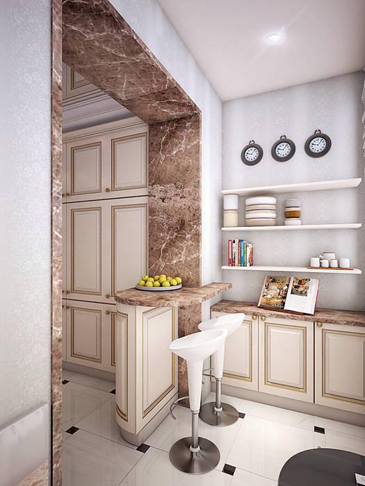 Cocinas de estilo clásico de Алина Насонова Clásico