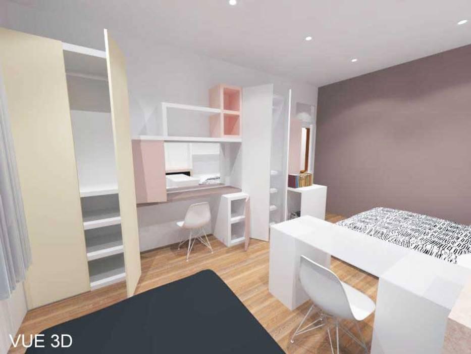 3D Rangements Chambre Des Filles: Chambre Du0027enfant De Style Par Pauline  VIDAL