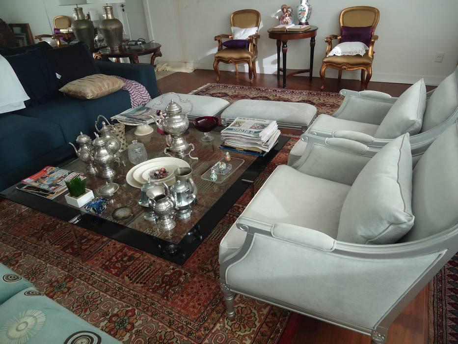 Projetos Salas de estar modernas por aclinsmaranhao Moderno