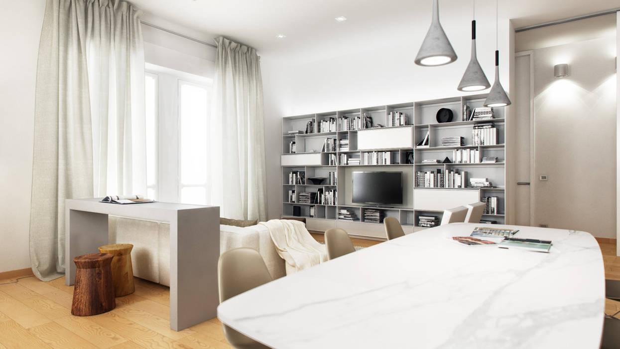 AUS 01 Apartment no.3 in Turin von 3Dedintorni Minimalistisch
