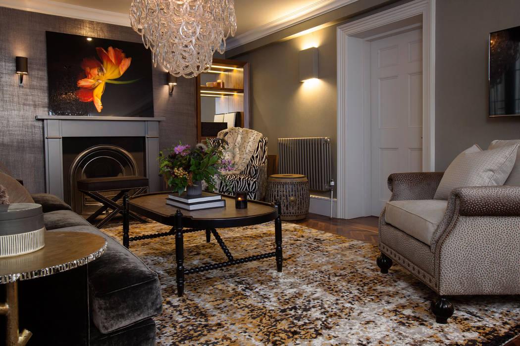 Living Room Klassische Wohnzimmer von Roselind Wilson Design Klassisch