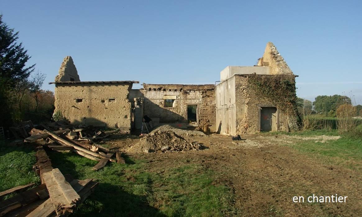 En chantier Maisons rurales par Briand Renault Architectes Rural