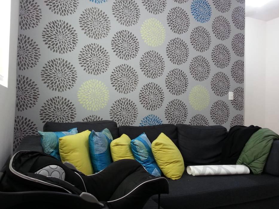 Plantilla Decorativa Salones modernos de VIVAinteriores Moderno