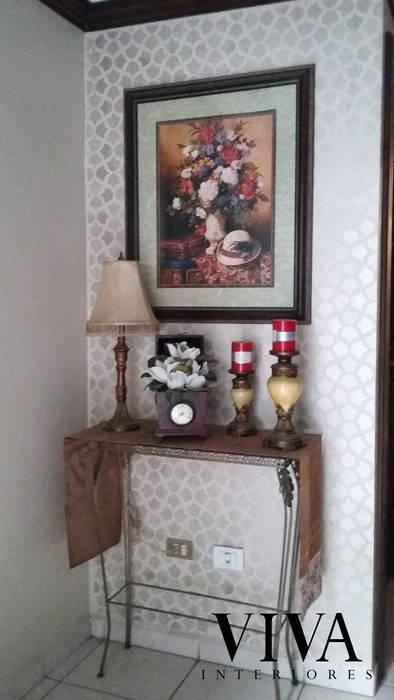 Plantilla Decorativa Pasillos, vestíbulos y escaleras modernos de VIVAinteriores Moderno