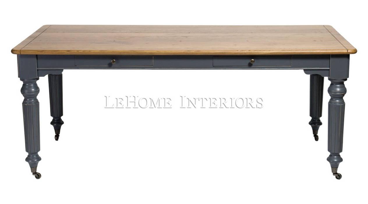 Стол обеденный Keywest Dining Table T006:  в . Автор – LeHome Interiors, Кантри Твердая древесина Многоцветный