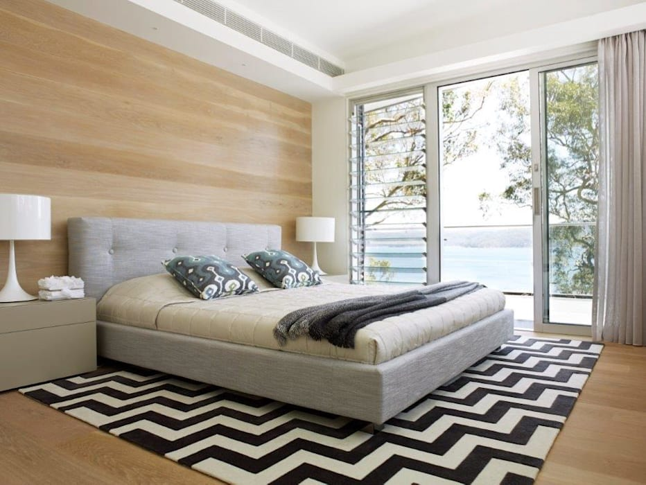 Avalon House Moderne Schlafzimmer von Greg Natale Design Modern
