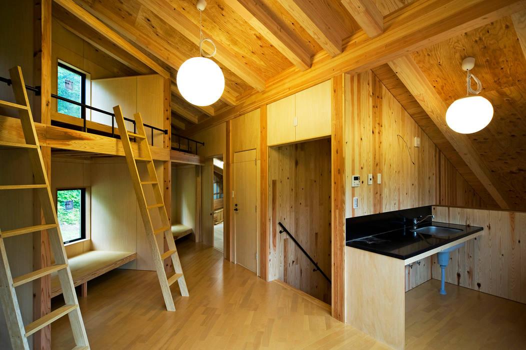 オーストラリア・ハウス: 山本想太郎設計アトリエが手掛けた寝室です。