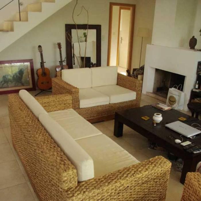 ensemble de canap s cologiques pour un salon sans cov. Black Bedroom Furniture Sets. Home Design Ideas
