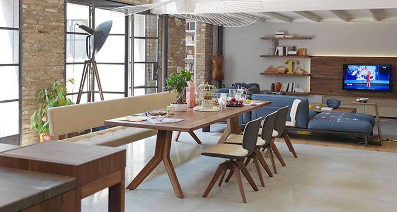 de style  par Design Lounge Hinke Wien, Moderne Bois Effet bois