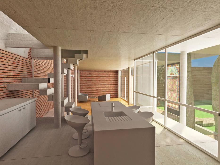 Casa pa casas de estilo por rr a bureau de arquitectos homify