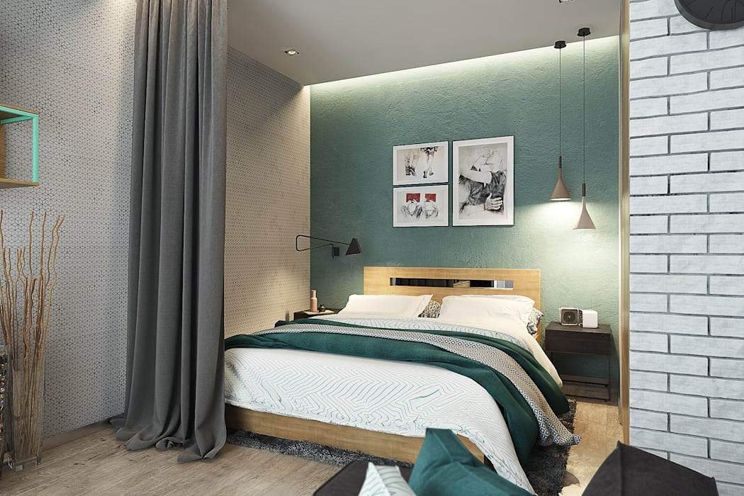 Bedroom by Solo Design Studio, Scandinavian