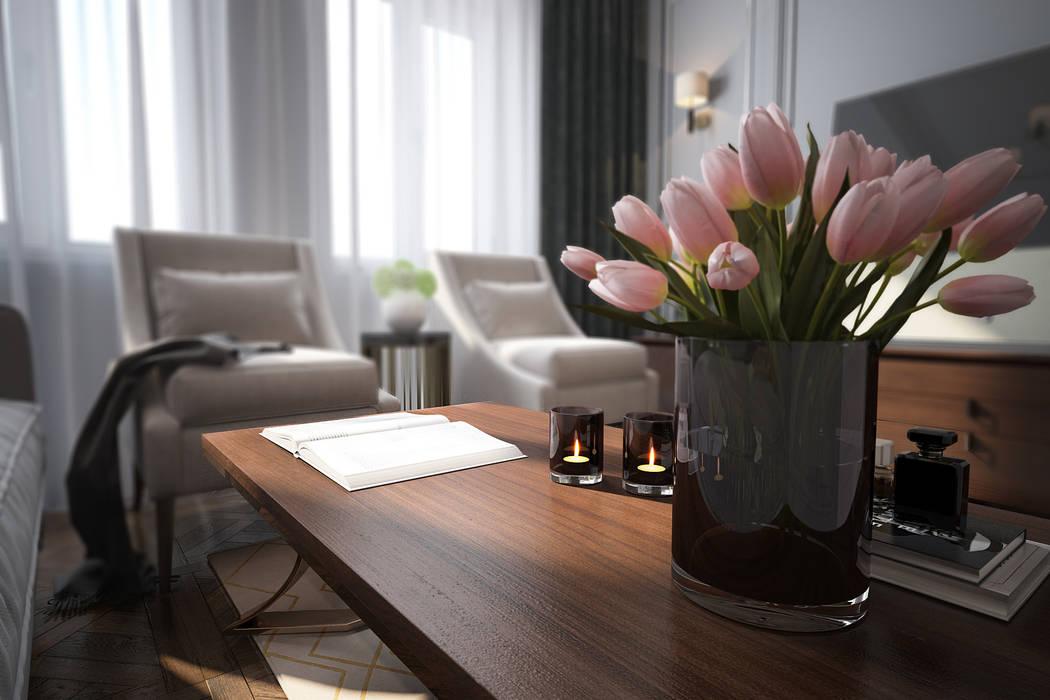 Классика может быть современной Гостиная в классическом стиле от Solo Design Studio Классический