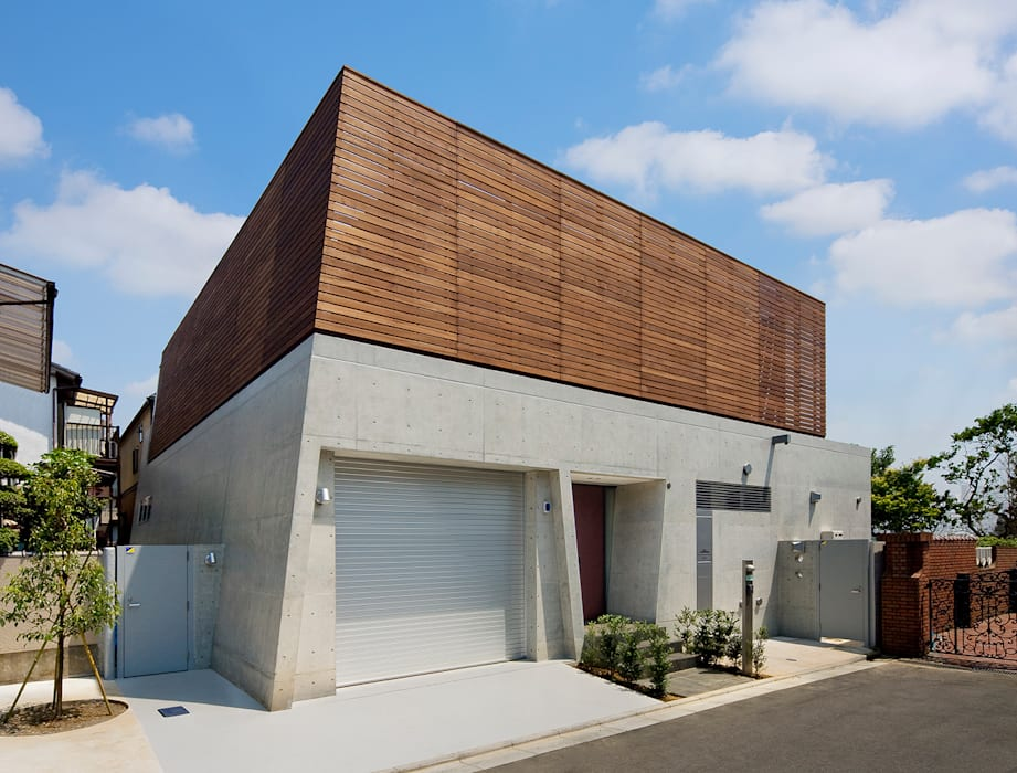 Modern houses by モリモトアトリエ / morimoto atelier Modern Wood Wood effect