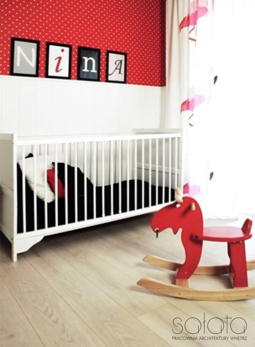 Sałata-Pracownia Architektury Wnętrz:  tarz Çocuk Odası, İskandinav