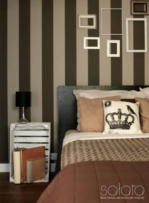 Sałata-Pracownia Architektury Wnętrz Classic style bedroom