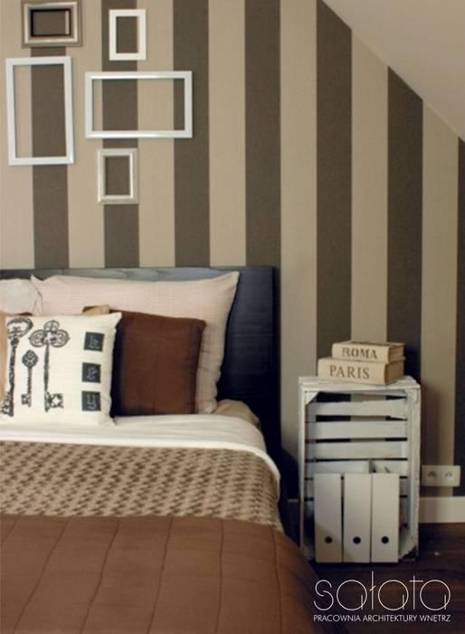 Classic style bedroom by Sałata-Pracownia Architektury Wnętrz Classic