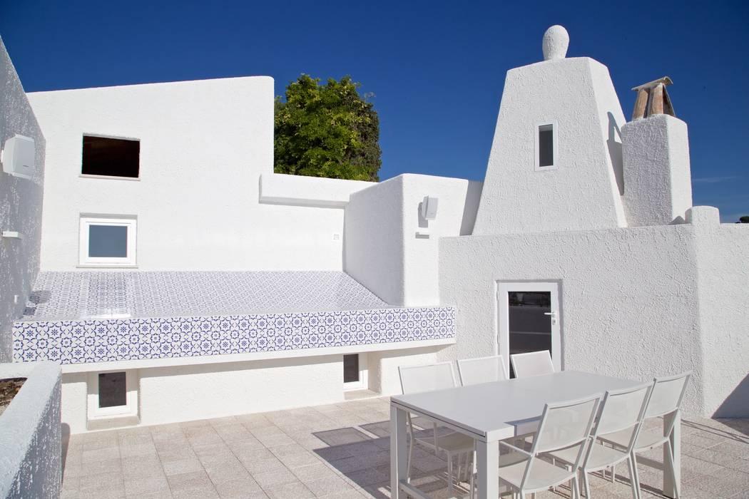 Balconies, verandas & terraces  by CERAMICHE MUSA
