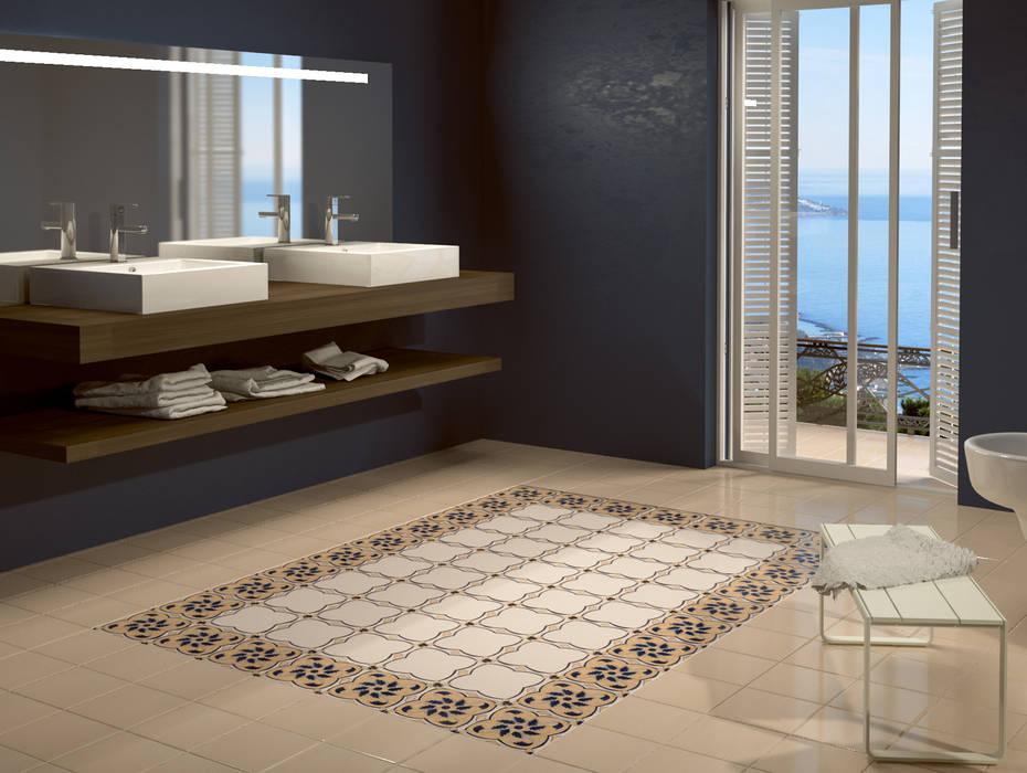 Baños de estilo  por CERAMICHE MUSA, Moderno Cerámico