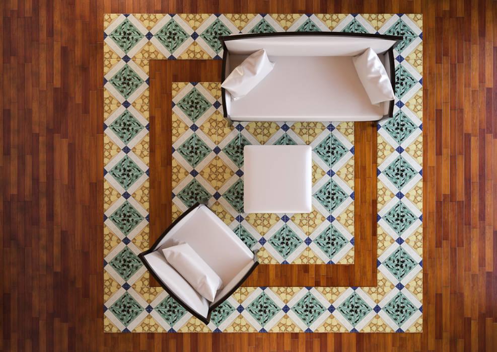 Salas / recibidores de estilo  por CERAMICHE MUSA