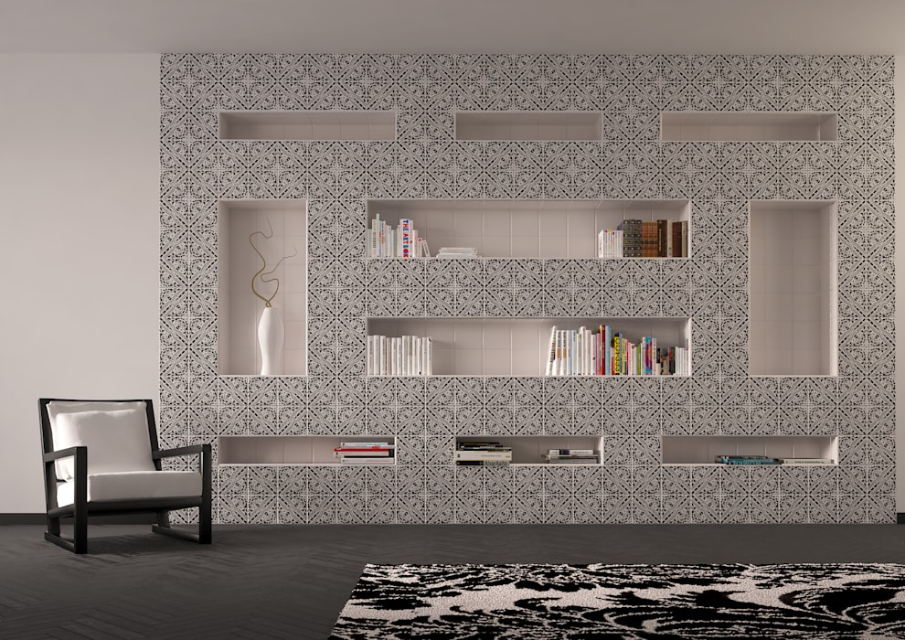 Study/office by CERAMICHE MUSA