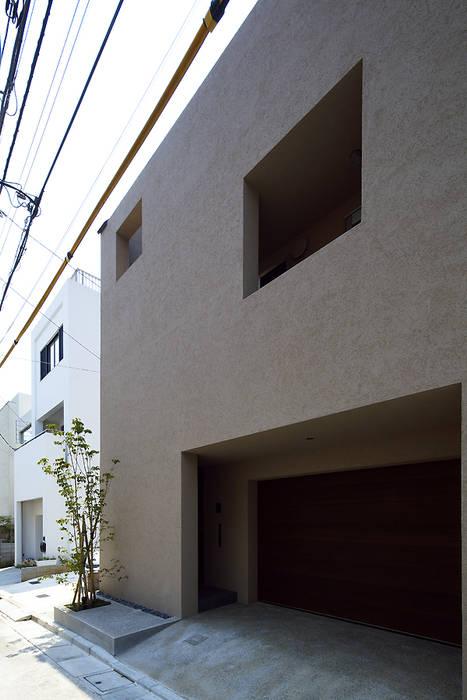 โดย 株式会社廣田悟建築設計事務所 โมเดิร์น