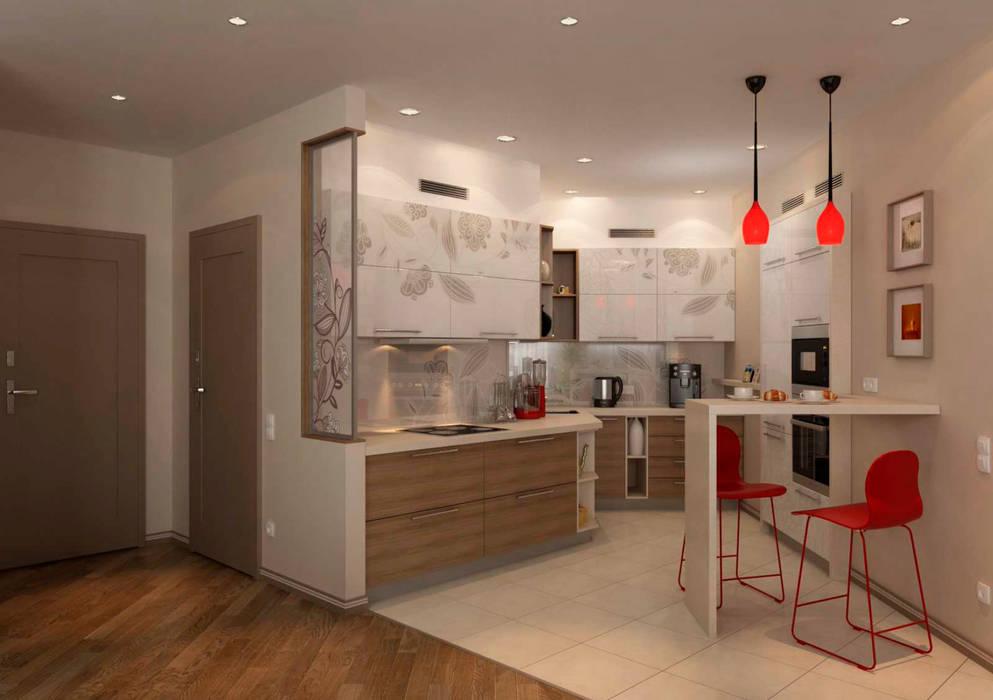 Modern Kitchen by GP-ARCH Modern