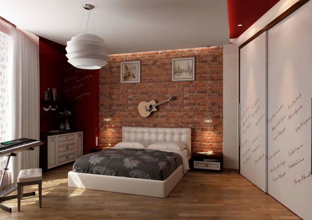 Modern Bedroom by GP-ARCH Modern