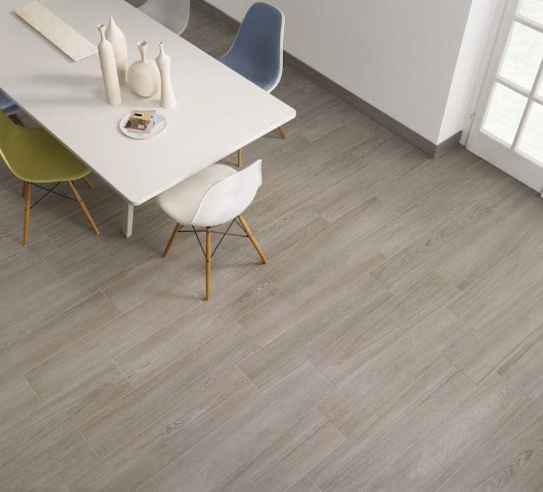 Coppice Tortora Wood Effect Porcelain Tiles Walls Flooring By The