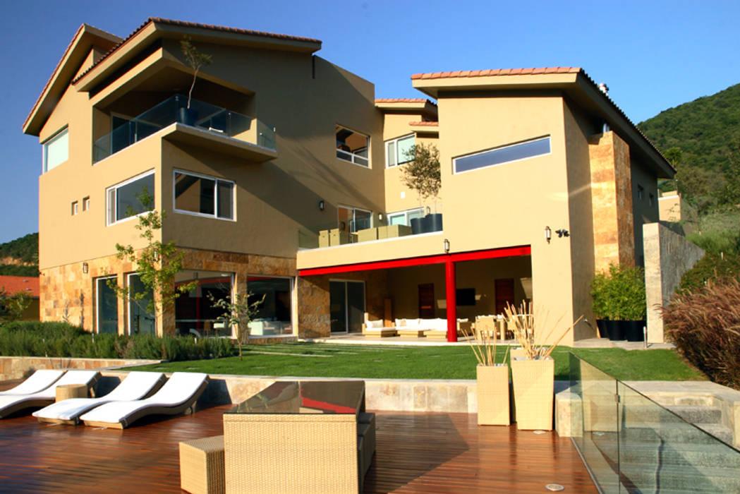 Las Estancias Casas modernas de Adrián Martínez Arquitectos Moderno