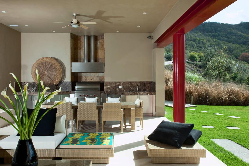 Moderne Wohnzimmer von Adrián Martínez Arquitectos Modern